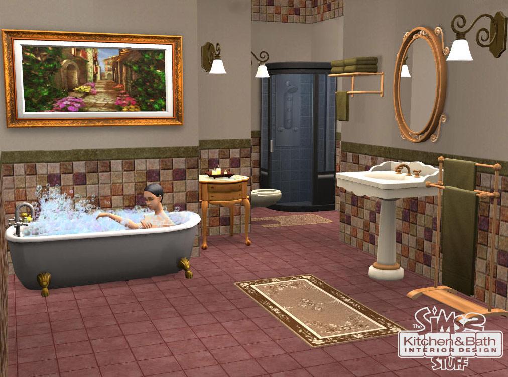 Дизайн комнаты в симс 2